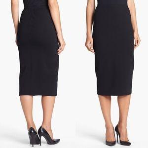 Lafayette 148 NY| Black Wool Pencil Skirt sz 10